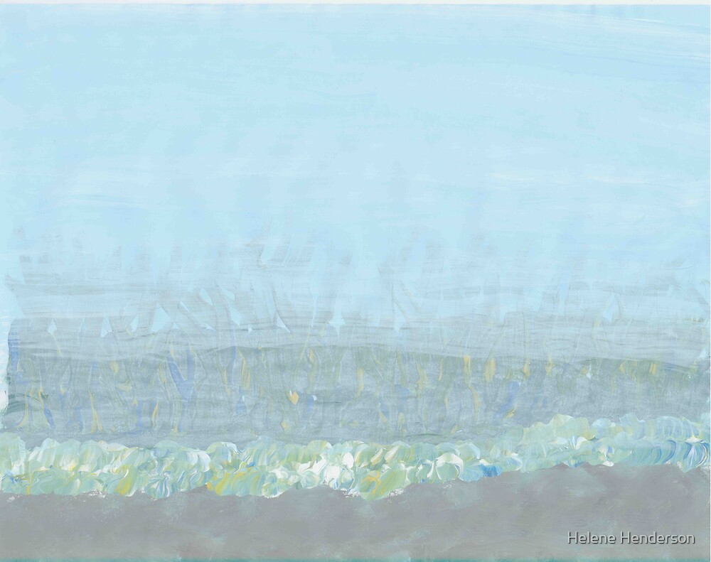 Fog on the Prairie by Helene Henderson