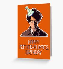 Happy mother-flipping birthday Greeting Card