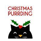 Christmas purrding by fashprints