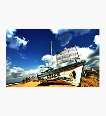 Tropical Beach Bar Photographic Print