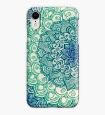 Emerald Doodle iPhone XR Case