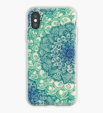 Emerald Doodle iPhone Case