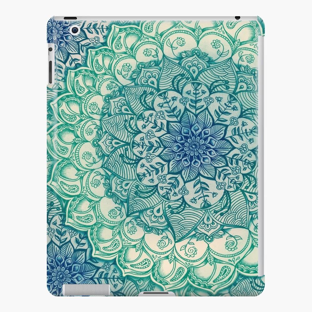 Emerald Doodle Funda y vinilo para iPad