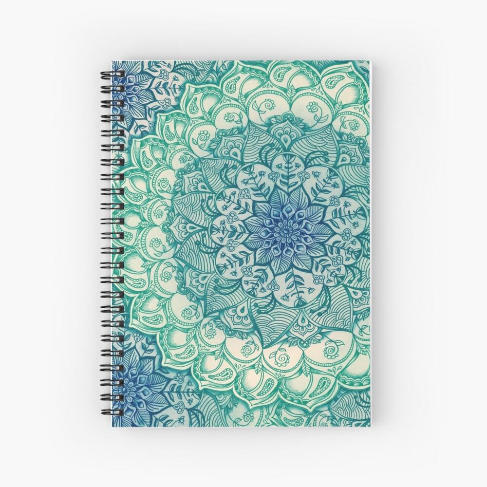 Emerald Doodle Cuaderno de espiral