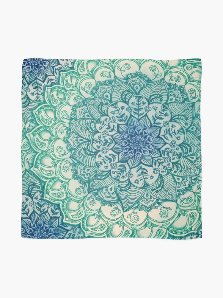 Alternative Ansicht von Smaragd-Gekritzel Tuch