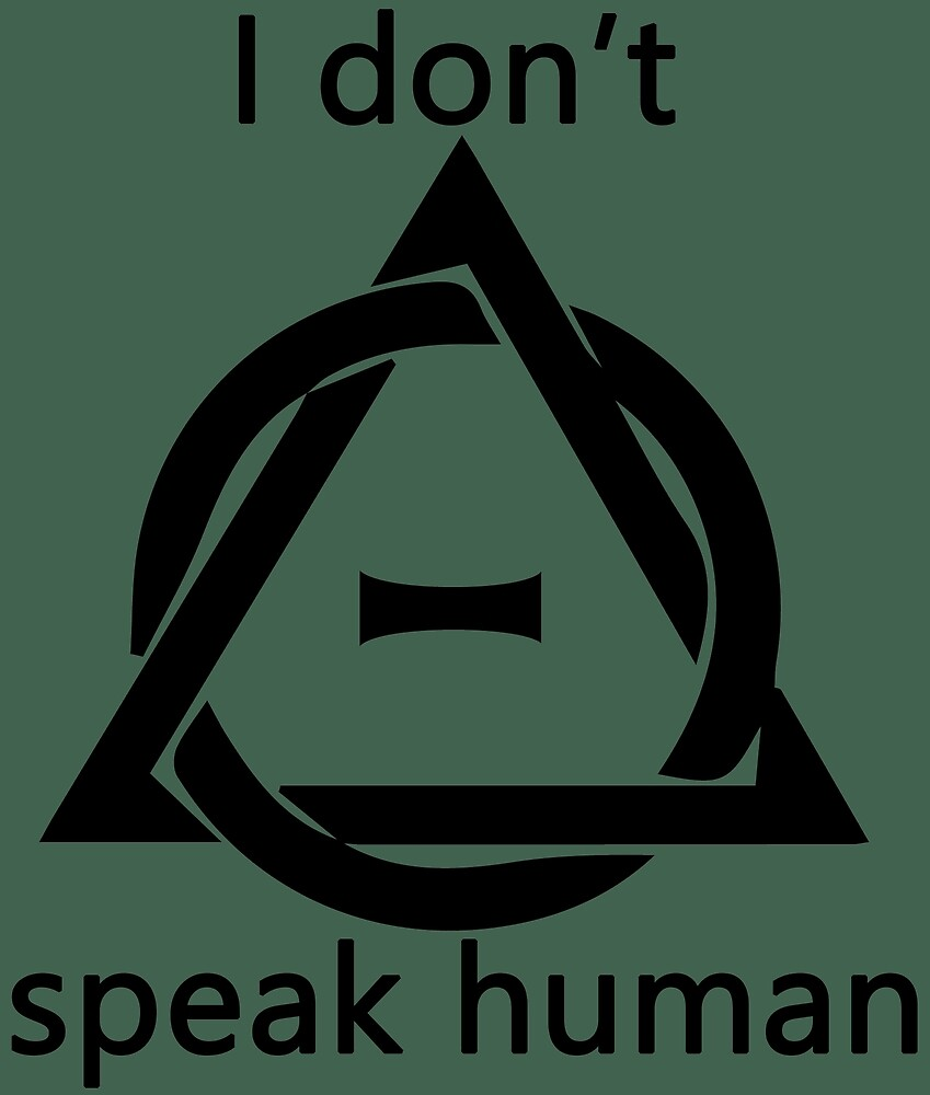 Theta Delta Therian Symbol Therianthropy I Dont Speak Human By