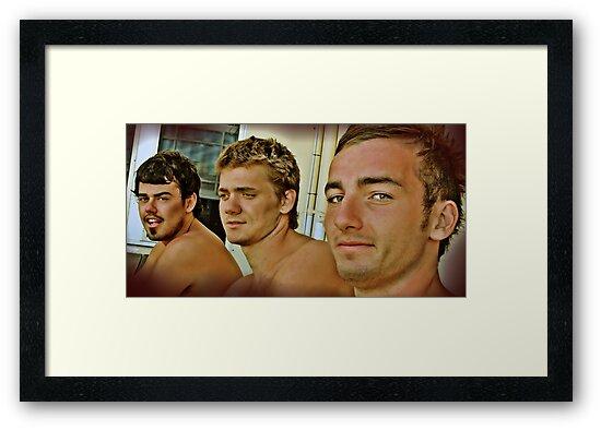 Three Muskateers by Tainia Finlay