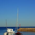Waterscape: Shellharbour boat harbour by Vanessa Pike-Russell