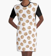 Pattern design with cookies Graphic T-Shirt Dress