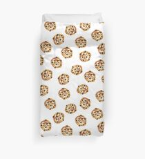 Pattern design with cookies Duvet Cover
