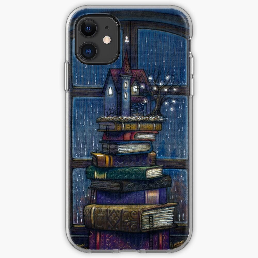 Books castle iPhone Case & Cover