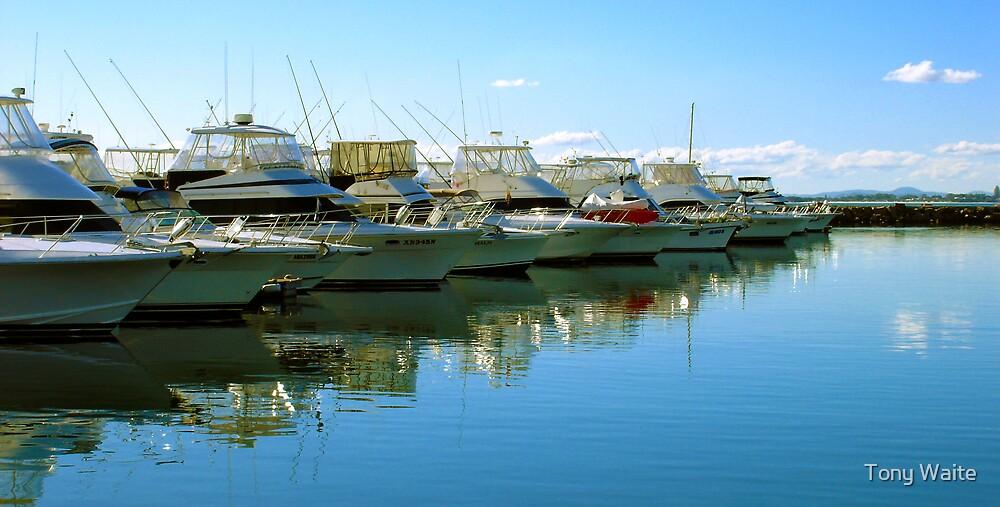 Port Stephens Marina by Tony Waite