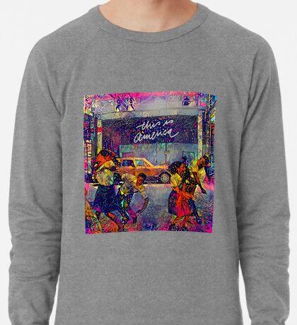 Abstract This Is America Lightweight Sweatshirt