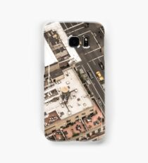 Vintage photograph of the streets New York City Samsung Galaxy Case/Skin