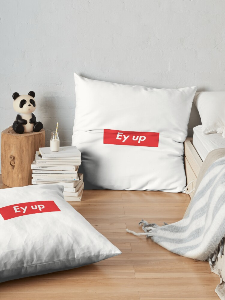 Alternate view of Ey up / Eyup Floor Pillow