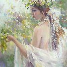 Goddess of good harvest by vasenoir