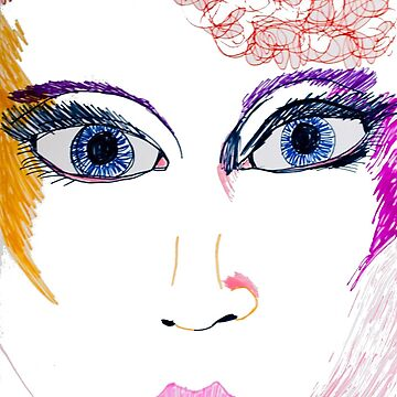 Disco Girl by katiemaryart