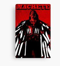 Machete Canvas Print