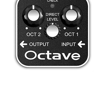 Octave Guitar Pedal by vikisa