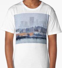 London - Canary Wharf in the fog  Long T-Shirt