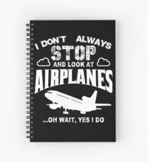 Plane Spotter Spiral Notebook