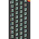 Sinclair ZX Spectrum, Raspberry Pi Zero Official Case by ChoccyHobNob
