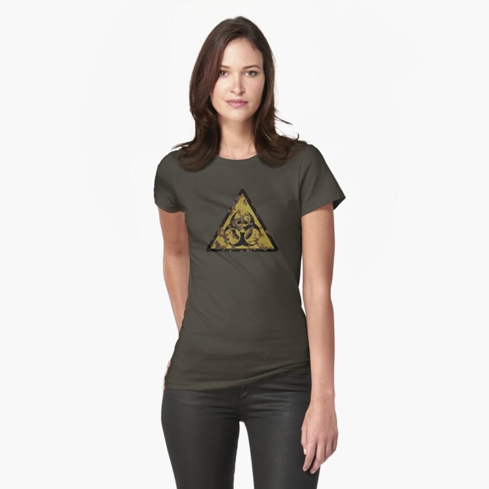 Biohazard Womens T-Shirt Front