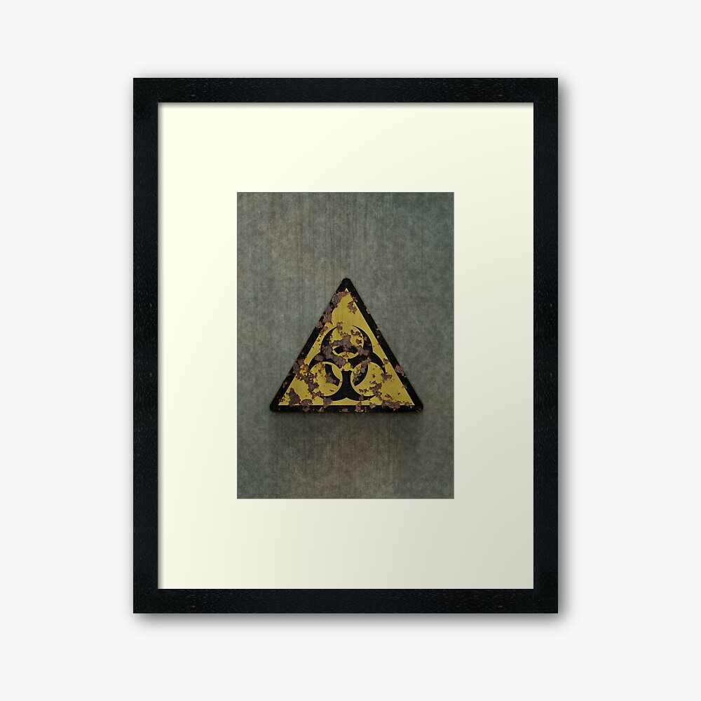 Biohazard Framed Art Print