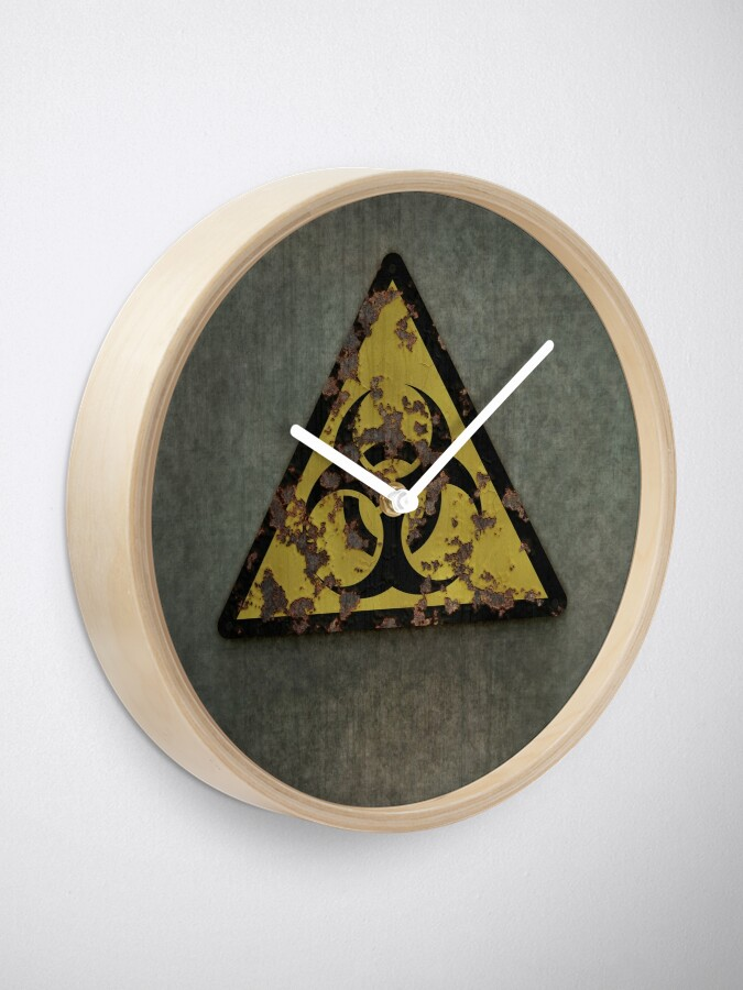 Alternate view of Biohazard Clock