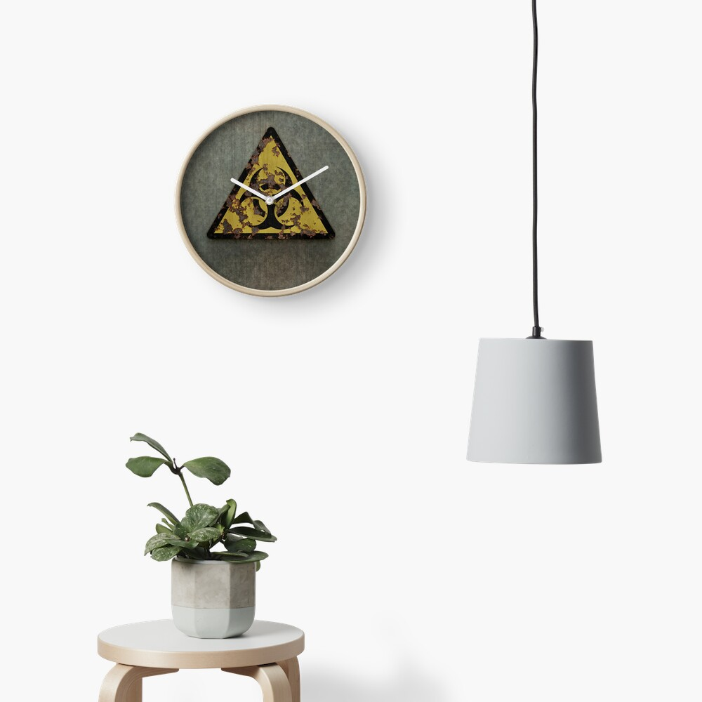 Biohazard Clock