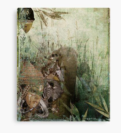 Elephant's Bride Canvas Print