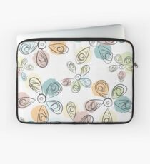 Paint Drop Flower Petals Laptop Sleeve