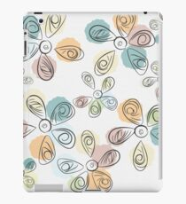 Paint Drop Flower Petals iPad Case/Skin