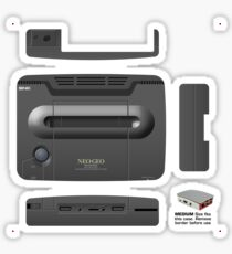 Neo-Geo, Raspberry Pi3 Official Case **GET MEDIUM SIZE** Sticker
