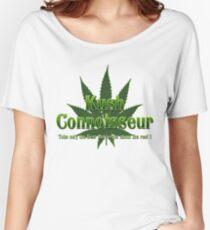 KUSH CONNOISSEUR Women's Relaxed Fit T-Shirt