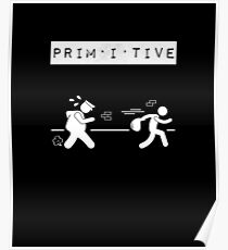 """Primitive Collection """"pig""""   Poster"""