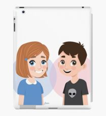 Mini Mulder and Scully - The X-Files iPad Case/Skin