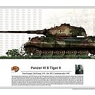 Panzer VI B Tiger II - Kurt Knispel 1945 by TheCollectioner