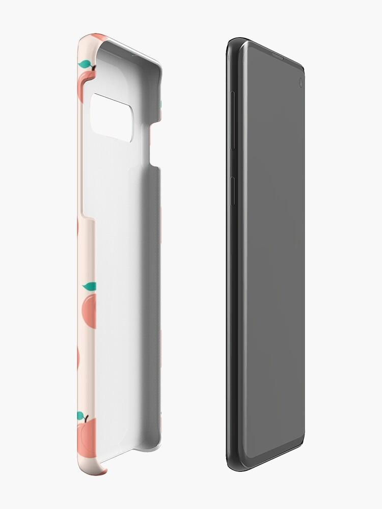 Vista alternativa de Funda y vinilo para Samsung Galaxy Patrón Peachy