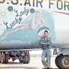 NOSE ART, UNITED STATES AIR FORCE, HUNTER AIR FORCE BASE by Don A. Howell