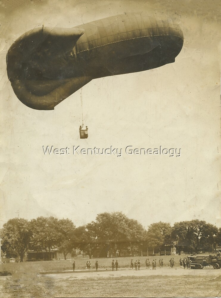 World War 1 Look out Balloon by Don A. Howell