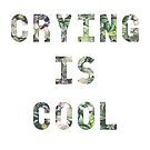 Crying is cool by Tricia Robinson