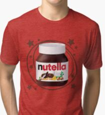 Nutella Swirls Tri-blend T-Shirt