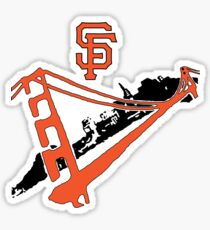 San Francisco Giants Stencil Sticker
