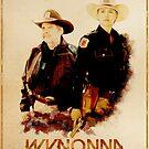Wynonna Earp - Western Style Cast Poster #15 - Purgatory Sheriff Department by Chantal Zeegers