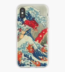 the great wave off kanto iPhone Case