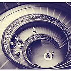Rome. Vatican stairs in Rome, Italy  by sylvianik