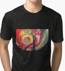 Original SURREAL landscape by ANGIECLEMENTINE Tri-blend T-Shirt