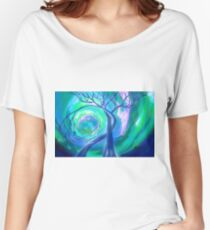 Surreal Landscape - Inner Peace by ANGIECLEMENTINE Women's Relaxed Fit T-Shirt