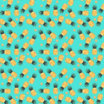 Tropical Pineapple Summer Pattern   by LemoBoy